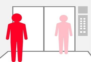 ویروس کرونا در آسانسور