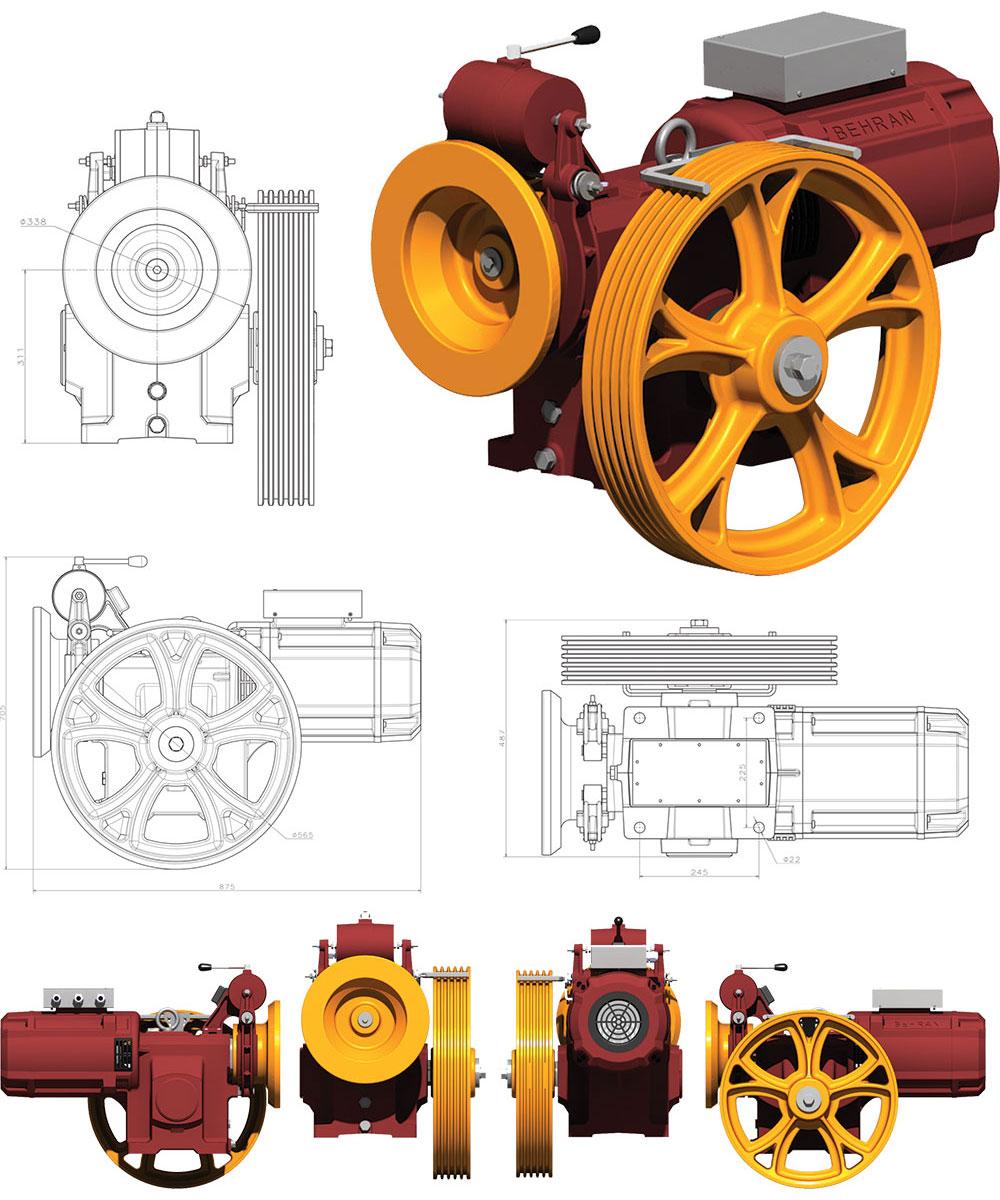 موتور بهران